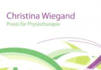 Krankengymnastin Christina Wiegand