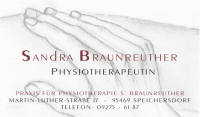 Sandra Braunreuther Praxis für Physiotherapie