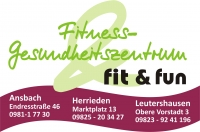 Fit & Fun Fitness- und Gesundheitszentrum Leutershausen